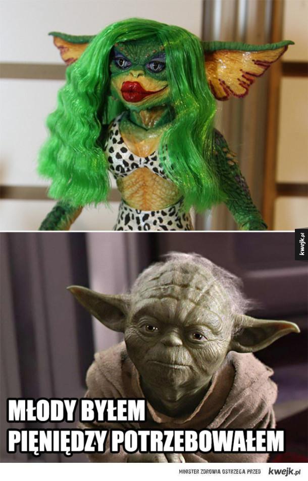 Yoda w młodości