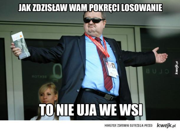 Zdzisław ogarnął nam losowanie