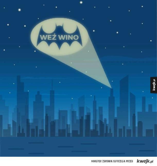 Tak wzywam Batmana