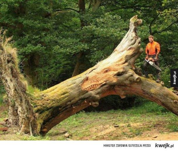Cudeńka wykonane z drewna