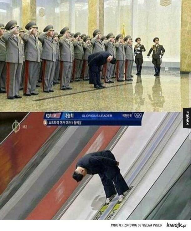 Koreański mistrz skoków narciarskich