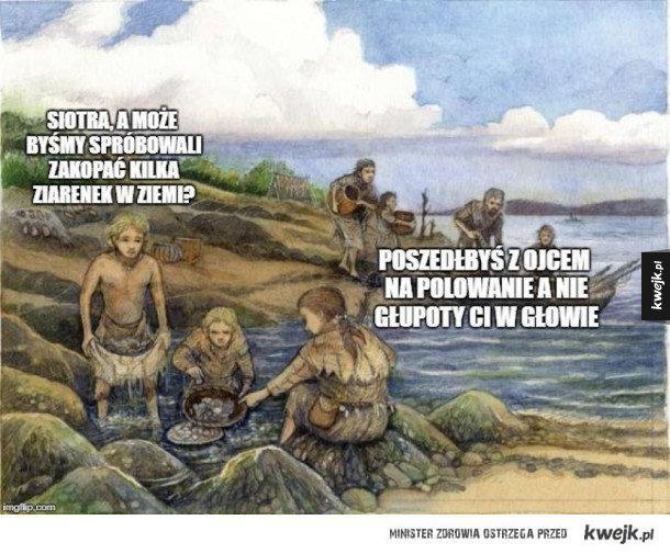 Prehistoryczne rozkminy