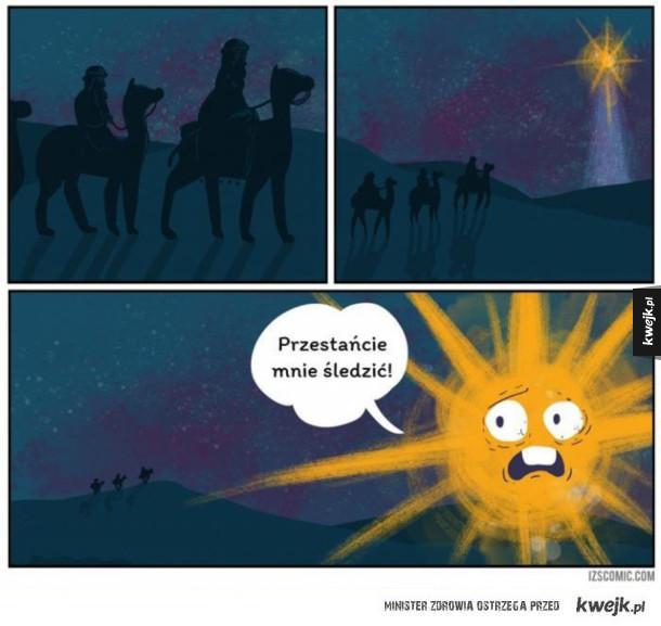 Gwiazda betlejemska czuje się zaniepokojona