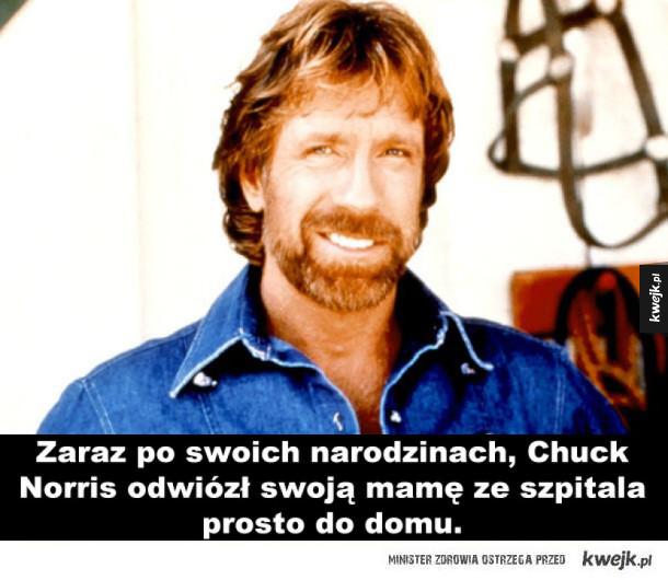 Fakty o Chuck'u Norrisie