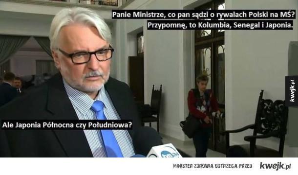 Nasz genialny minister