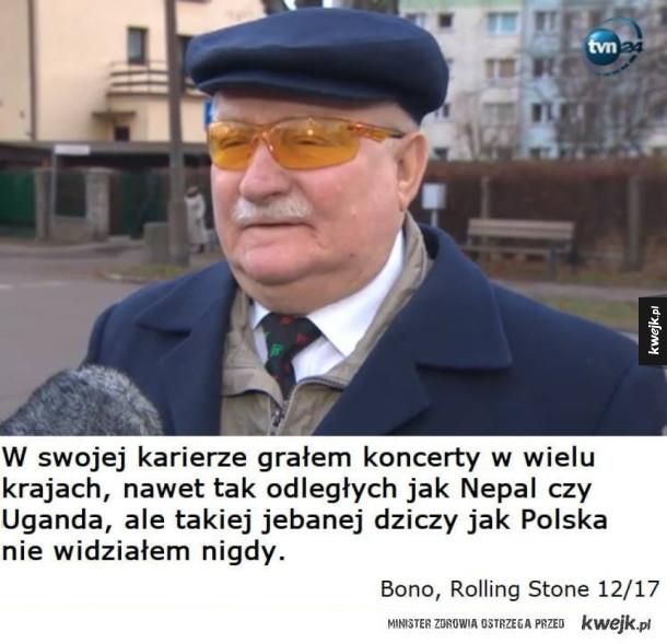 Bono mówi prawdę o naszym kraju