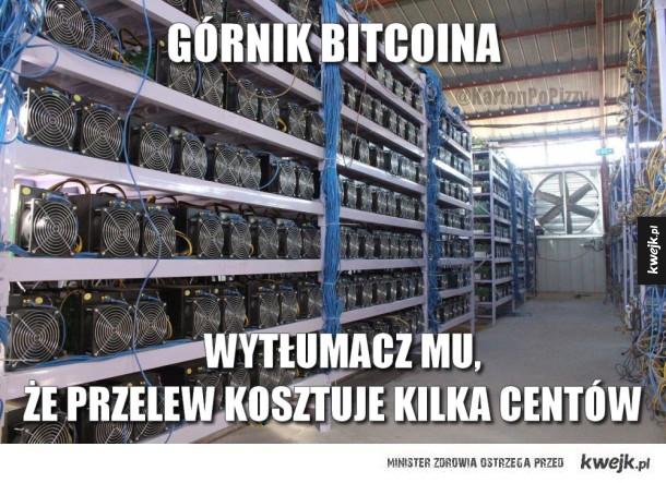 Górnik Bitcoina