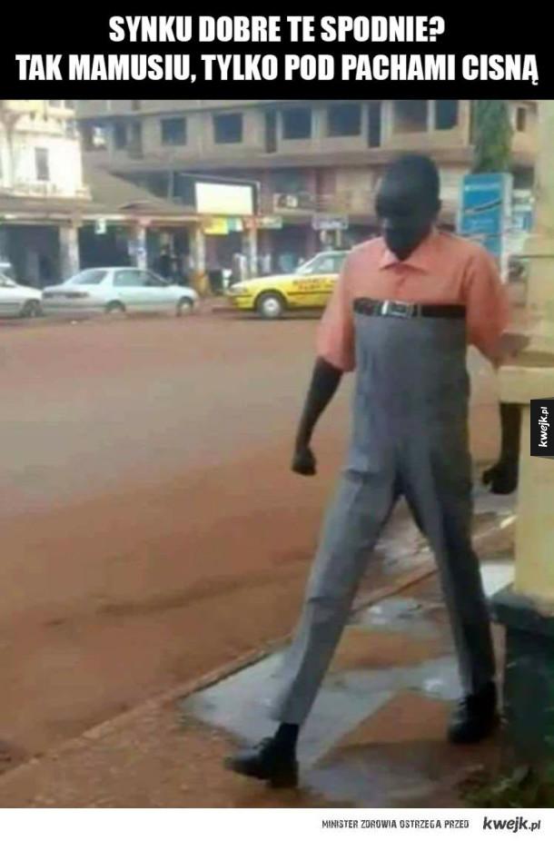 Idealne spodnie
