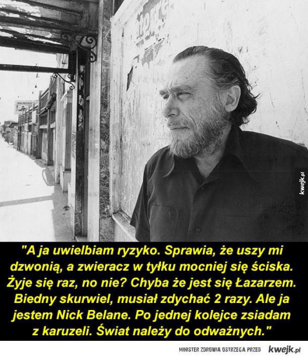 Cytaty Charlesa Bukowskiego