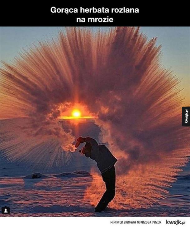Zdjęcia, które pokazują, że zima ma też swoją niezwykłą stronę