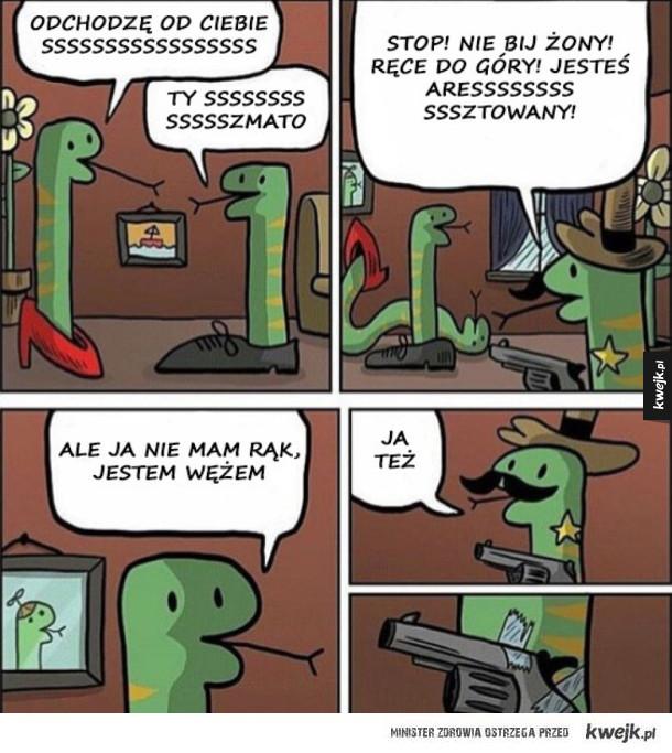 wąż niebezpieczny