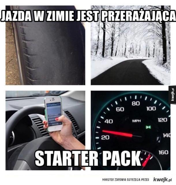 Zima starter pack