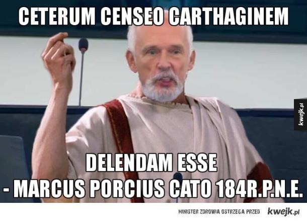Kartagina powinna zostać zniszczona