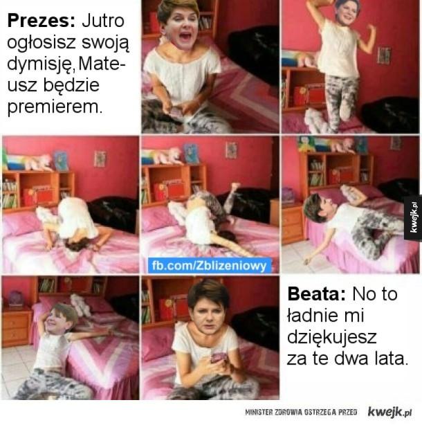 Biedna Beata xD