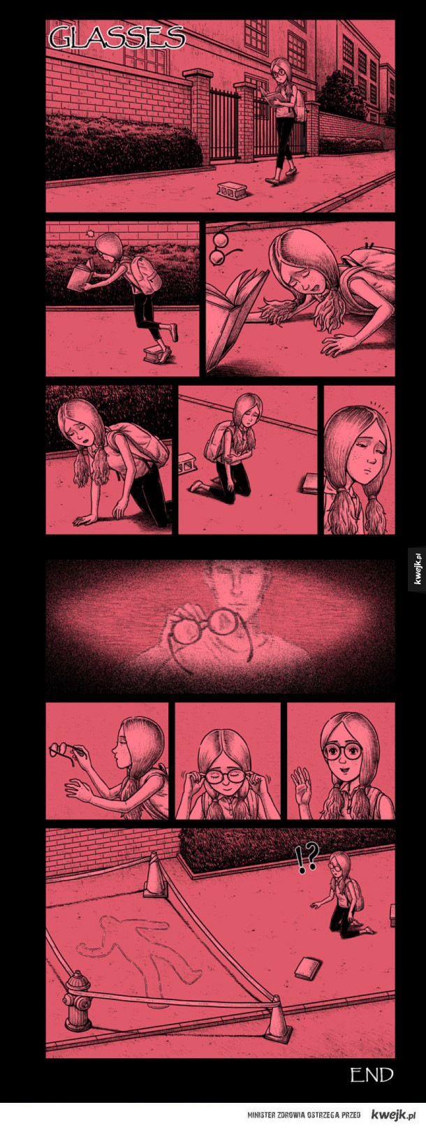Niepokojące komiksy Bena Chen