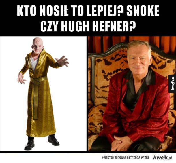 Snoke vs. Hefner