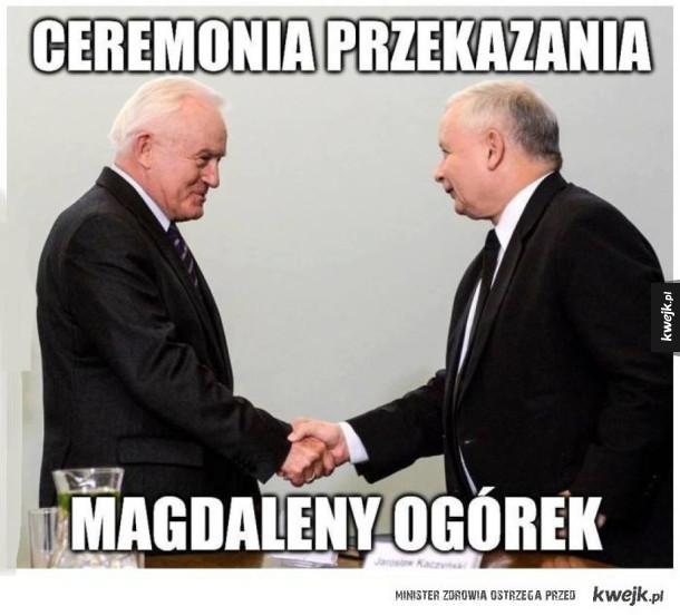 Ceremonia przekazania
