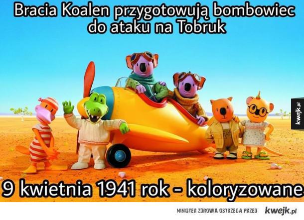 Przygotowania do bombardowania