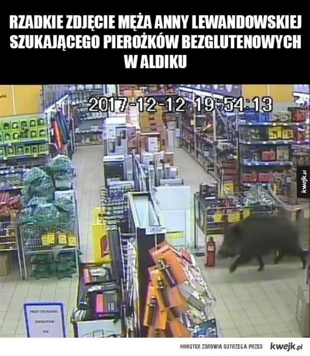 Lewandowski w sklepie