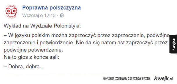 Język polski być trudny