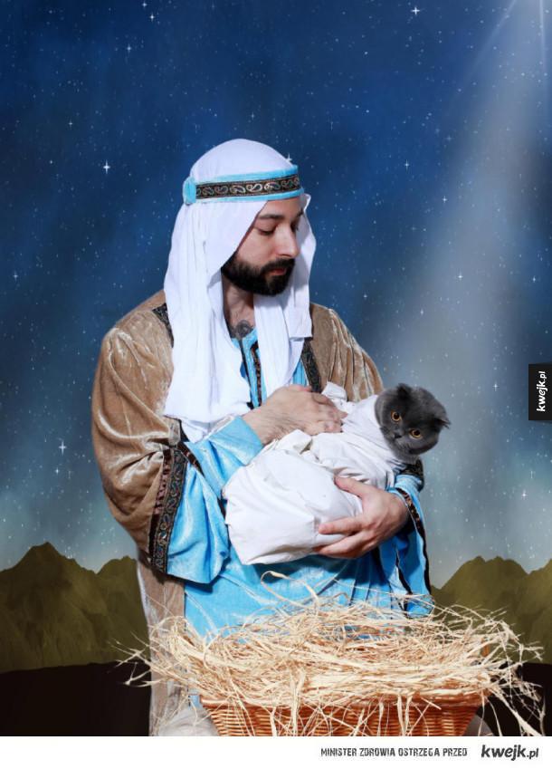 Najdziwniejsze zdjęcia z świątecznych sesji zdjęciowych ze zwierzakami