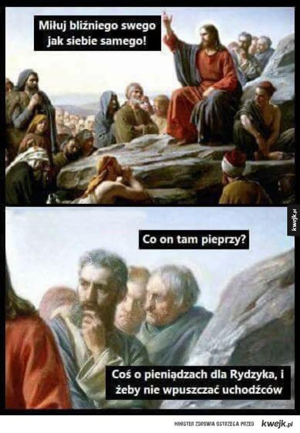 Tak właśnie słucha się Jezusa