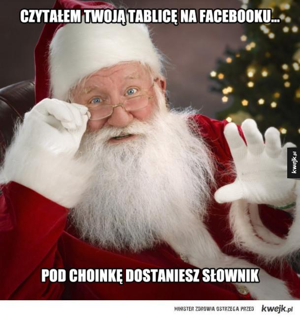 Mikołaj przemówił