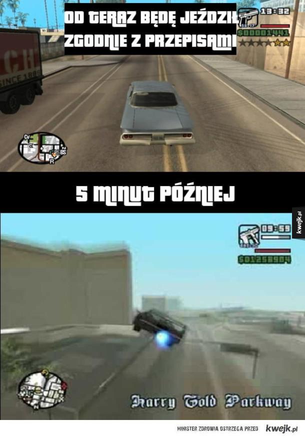 Granie w GTA