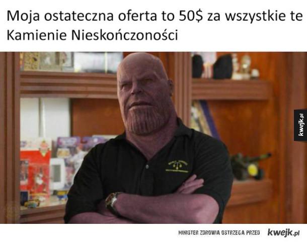 Śmieszki z Thanosa po najnowszym trailerze Avengers: Infinity War