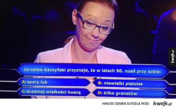 Uzbrojenie Kaczyńskiego