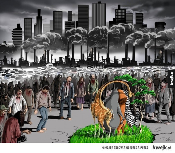 Współczesny świat na brutalnie szczerych i trafnych ilustracjach Gunduza Agayeva