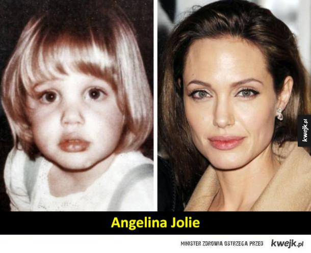 Oto jak znane piękności wyglądały w dzieciństwie