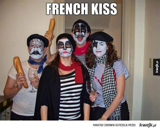 Francuskie pocałunki
