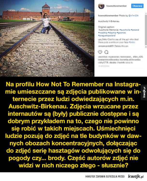 Foteczki w Auschwitz - bezmyślność, głupota czy brak szacunku?