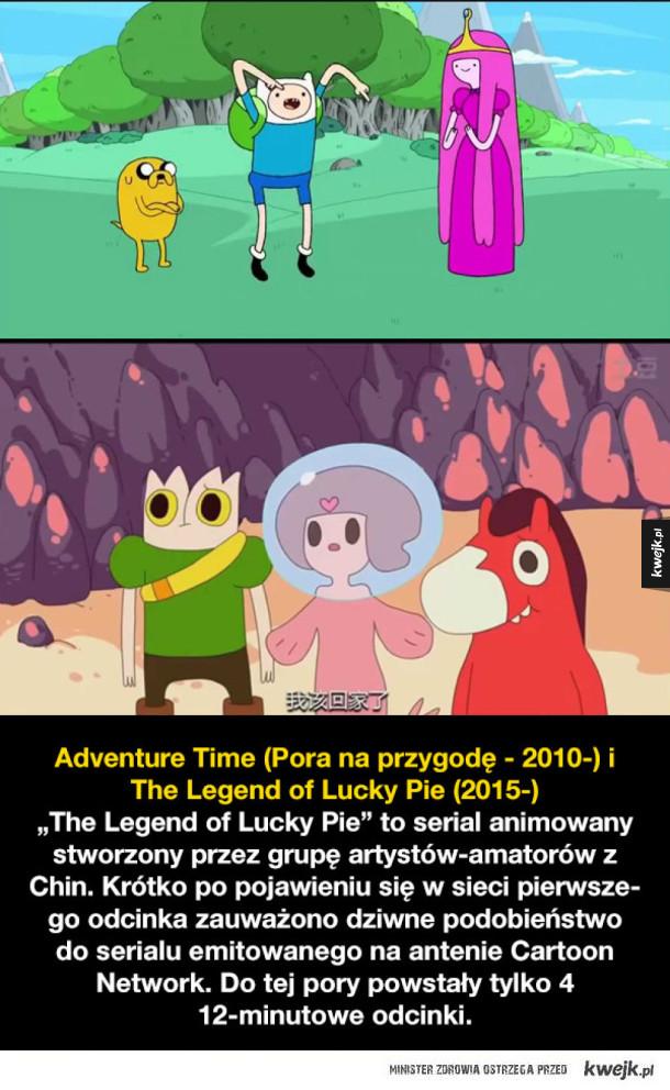 Animowane mockbustery i seriale dziwnie podobne do innych