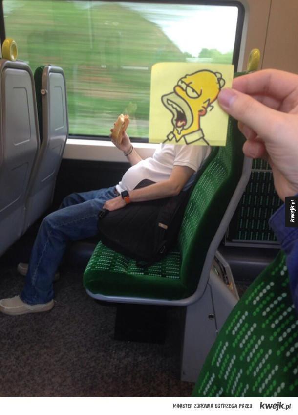 Kiedy nudzi Ci się w pociągu