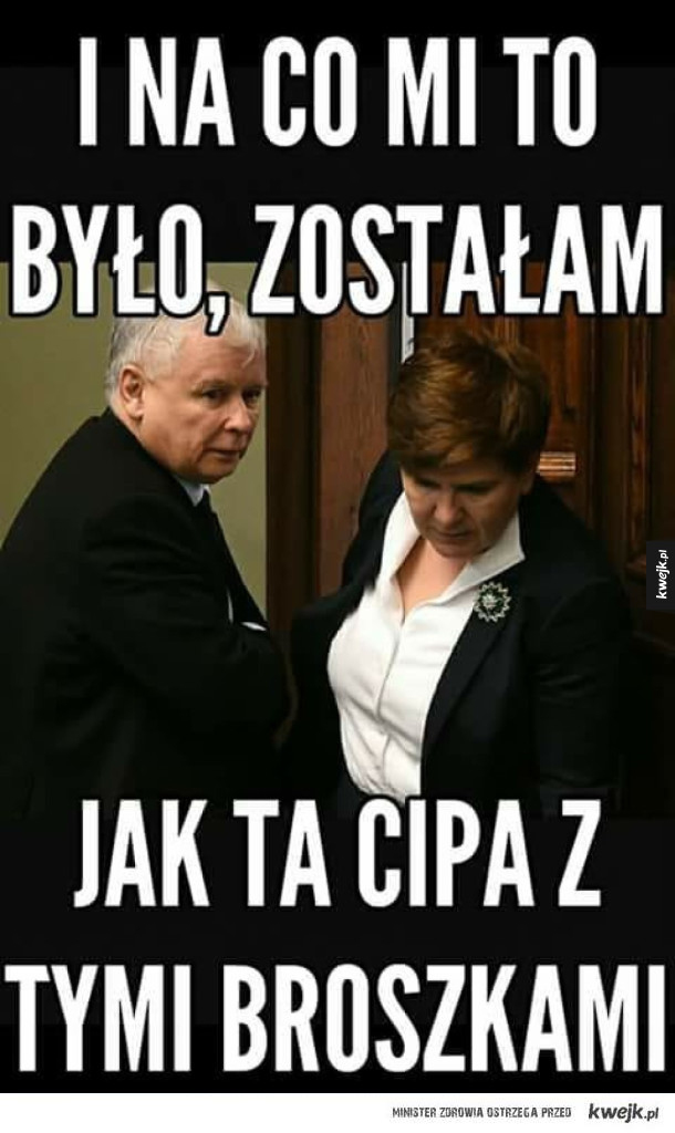 No i na co Ci to było