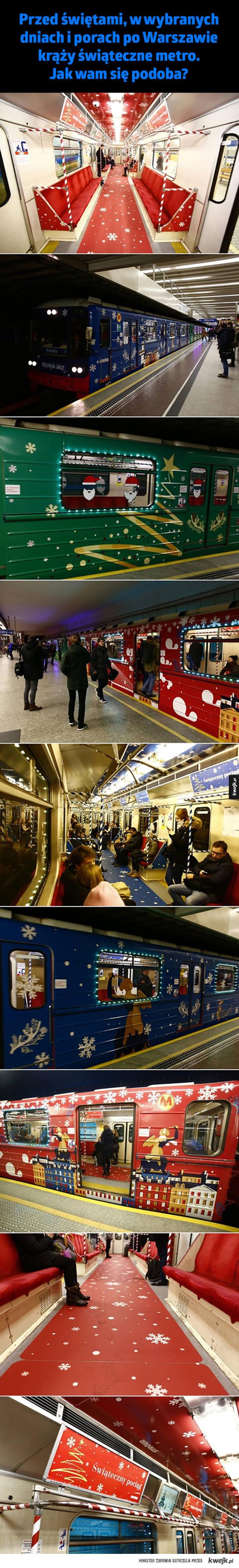 Świąteczne metro
