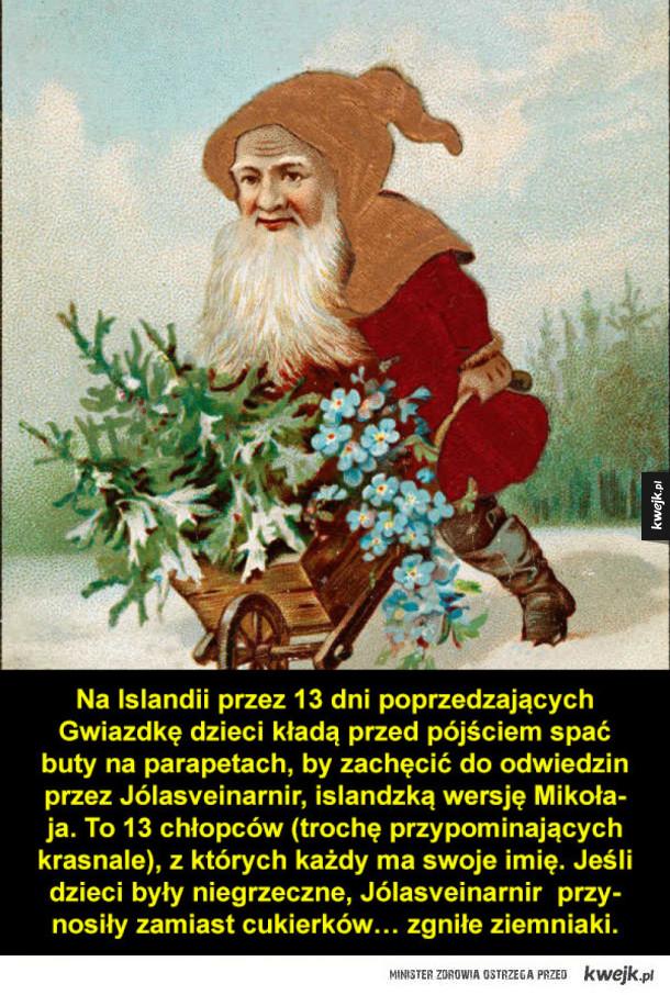 Dziwne świąteczne zwyczaje z całego świata
