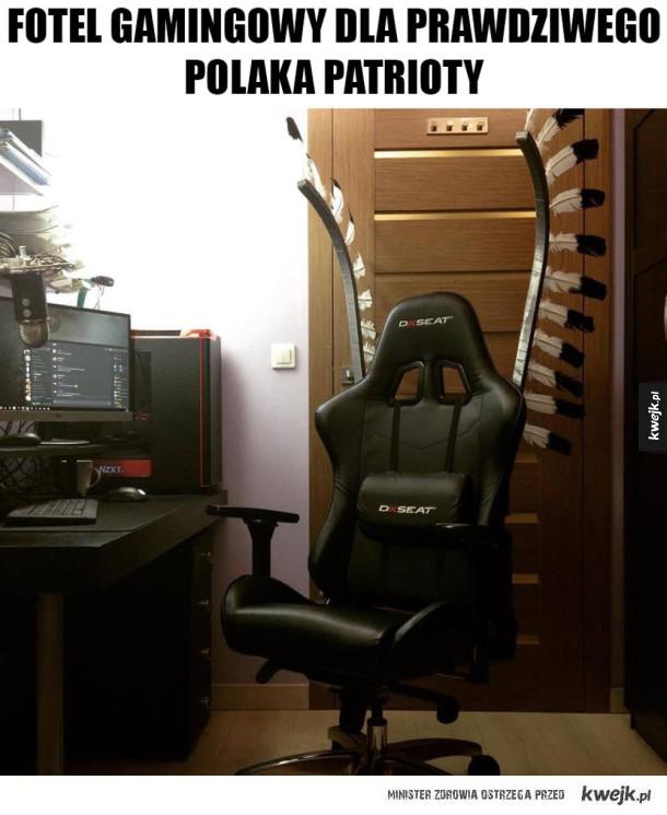 Fotel Polaka patrioty