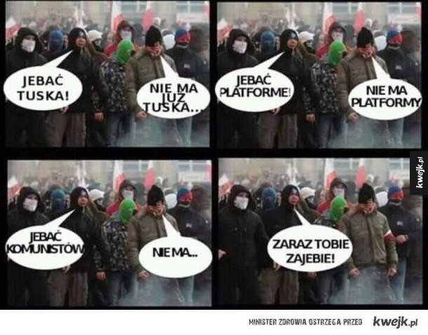 Protest narodowców
