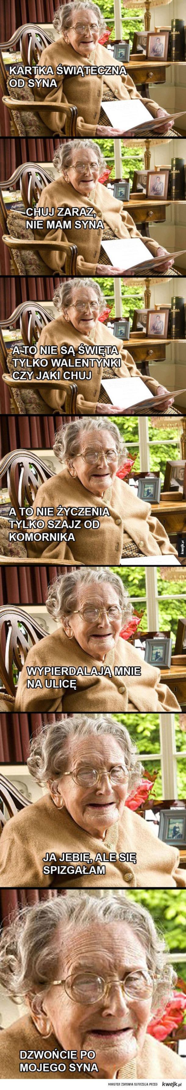 Porobiona babcia