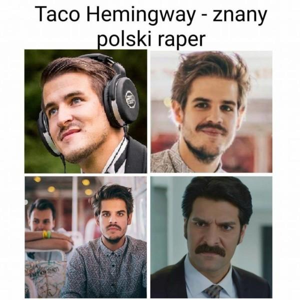 Znany Polski raper