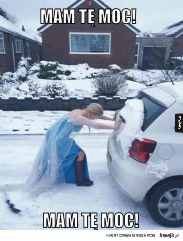 Elsa wzięła się do roboty