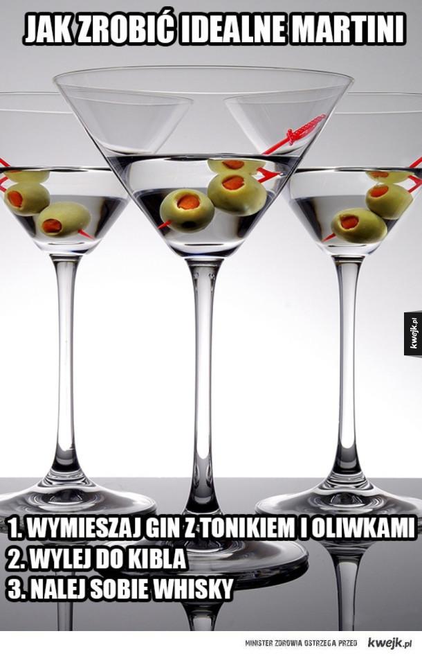 Przepis na pyszne martini