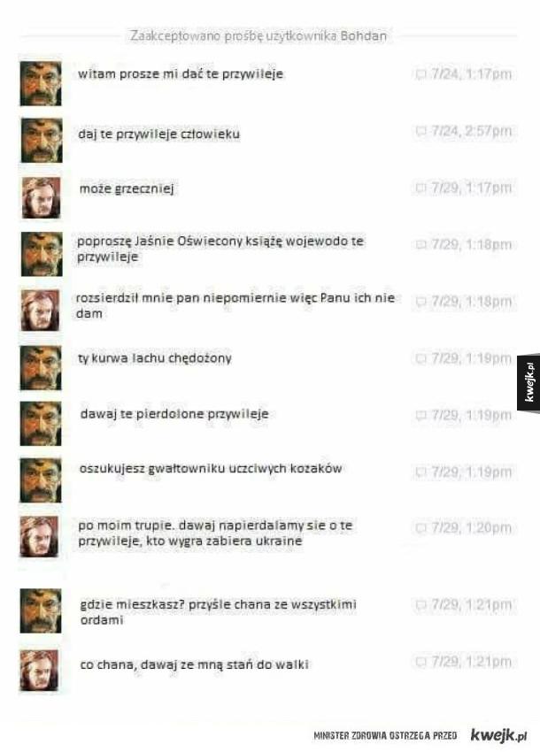 Rozmowa Chmielnickiego z Jaremą