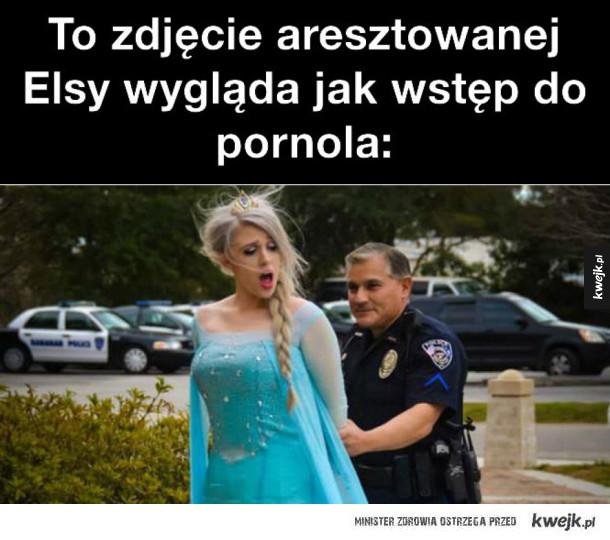 Elsa aresztowana