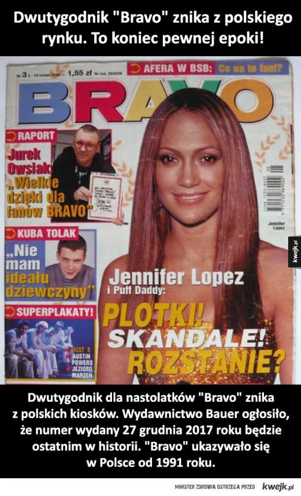 Koniec z Bravo