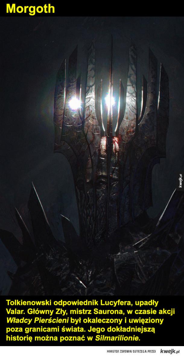 Grafiki fantasy inspirowane twórczością Tolkiena