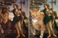 Słynne obrazy z tłustym rudym kotem w roli głównej ikonka 11